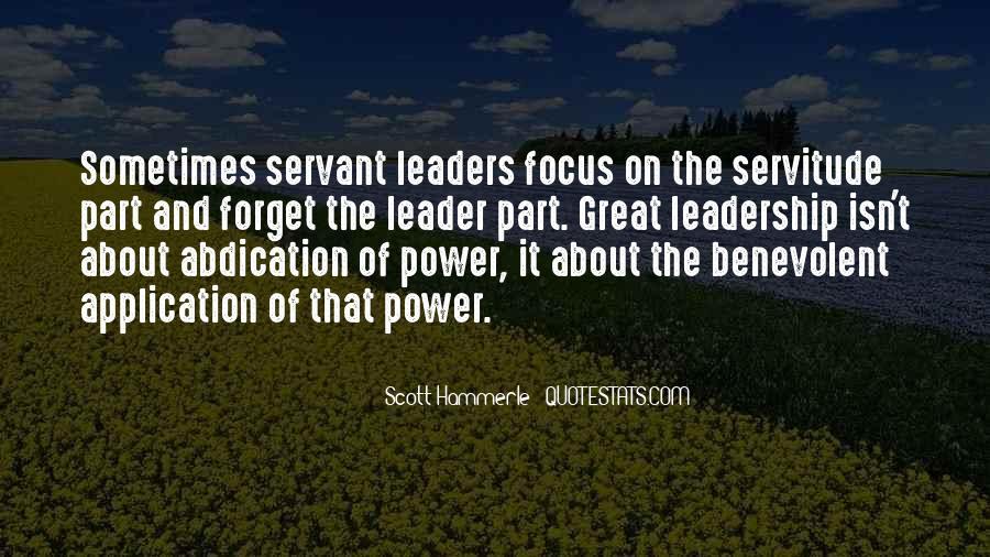 Management Leader Sayings #228834