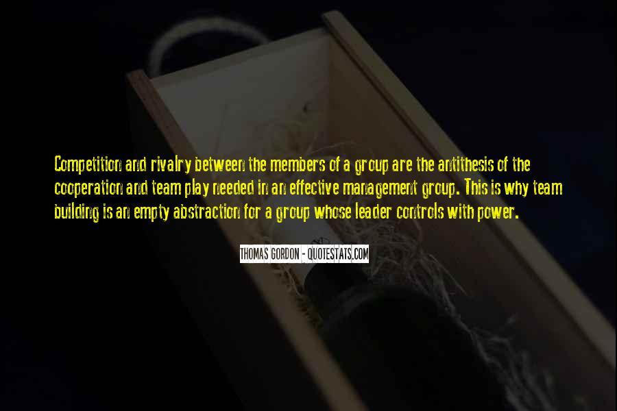 Management Leader Sayings #65737