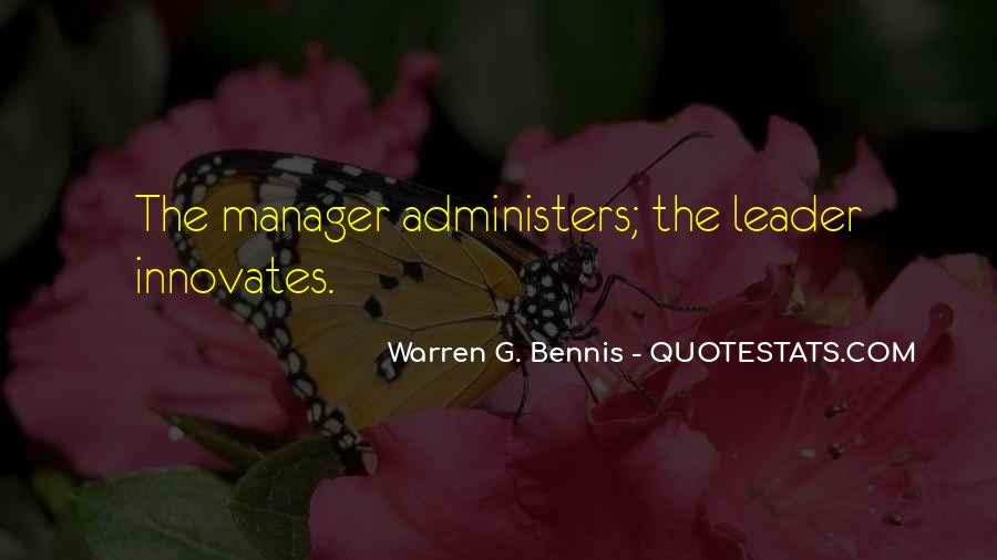Management Leader Sayings #664995