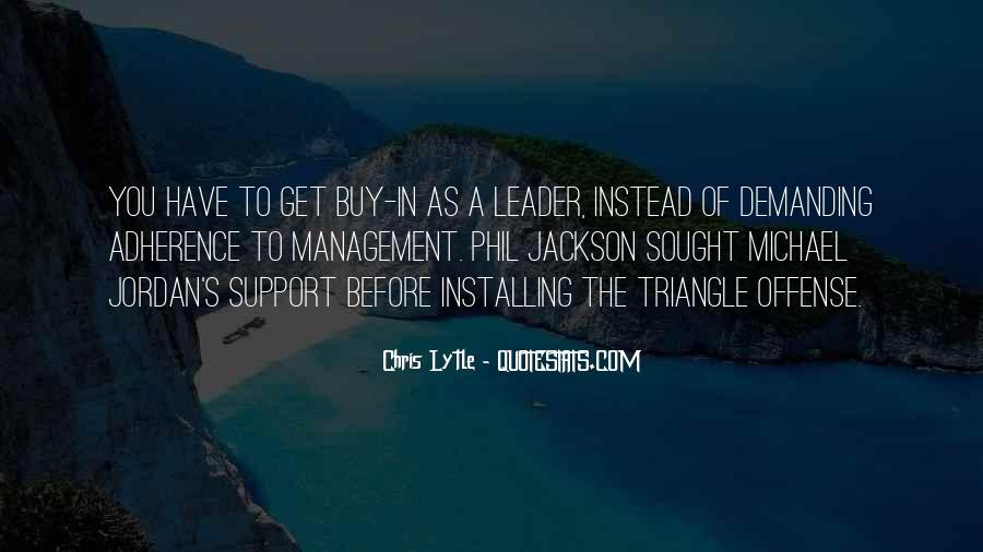 Management Leader Sayings #682172
