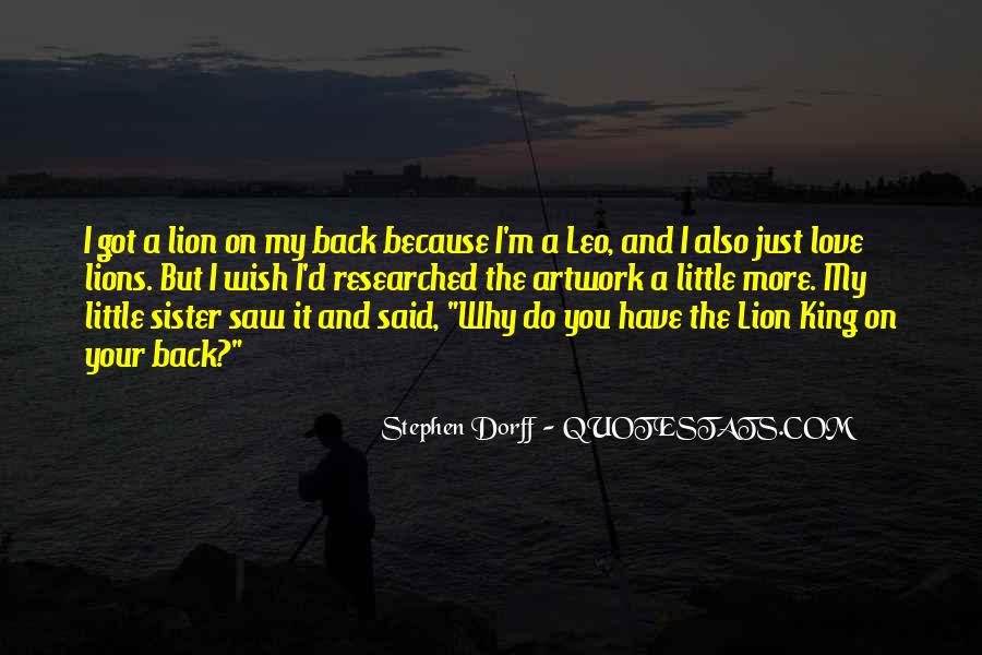 Quotes About Leo The Lion #41256