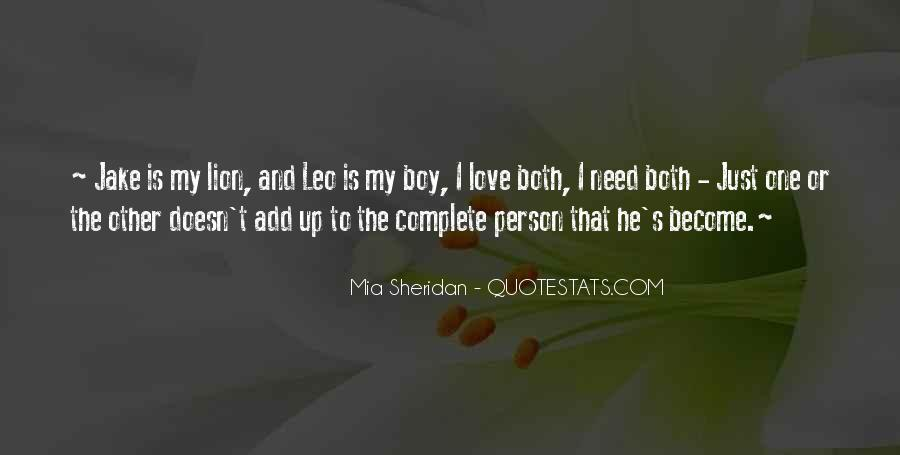 Quotes About Leo The Lion #819175