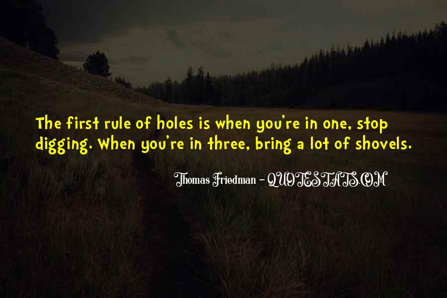 Quotes About Shovels #316835