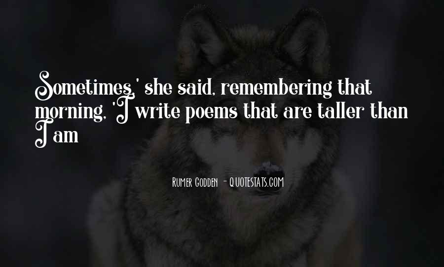 Morning Poems And Sayings #1083932