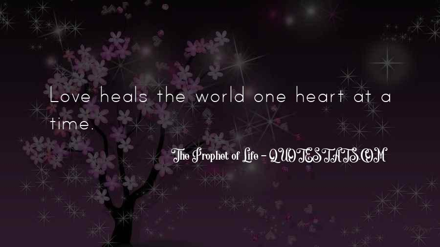 One Heart Quotes Sayings #108114