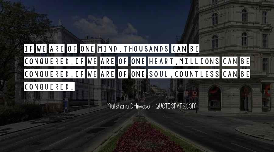 One Heart Quotes Sayings #1454074