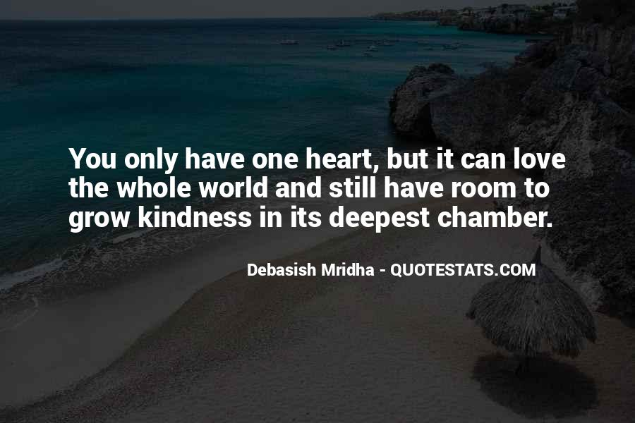One Heart Quotes Sayings #577044
