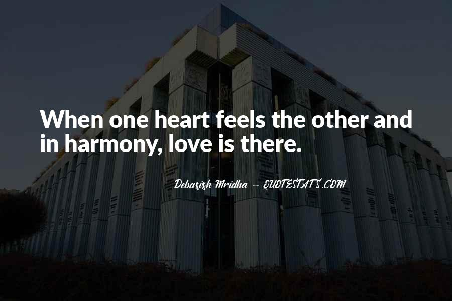 One Heart Quotes Sayings #896730