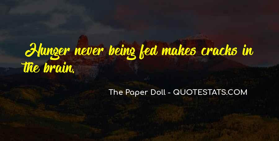 Paper Quotes And Sayings #1210817