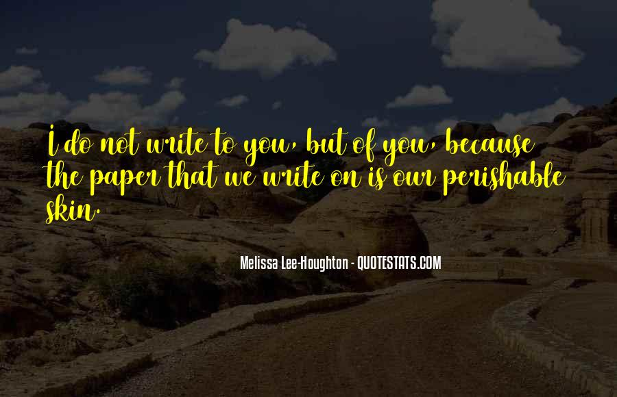 Paper Quotes And Sayings #1406059