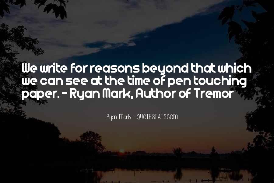 Paper Quotes And Sayings #1641052