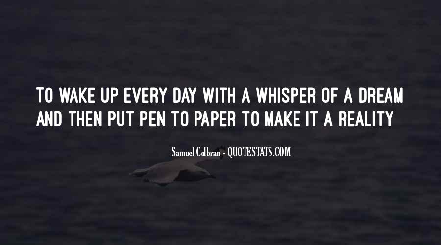 Paper Quotes And Sayings #1693254