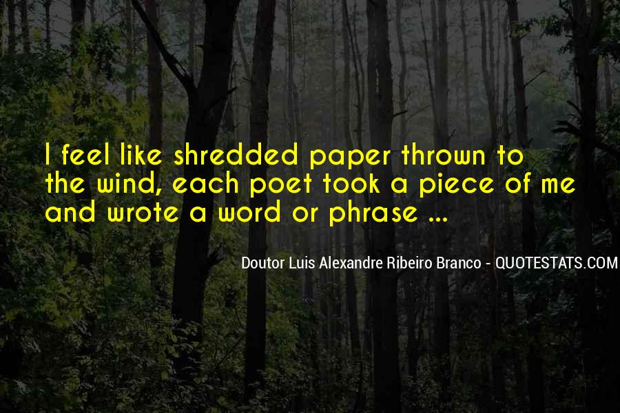 Paper Quotes And Sayings #1784723