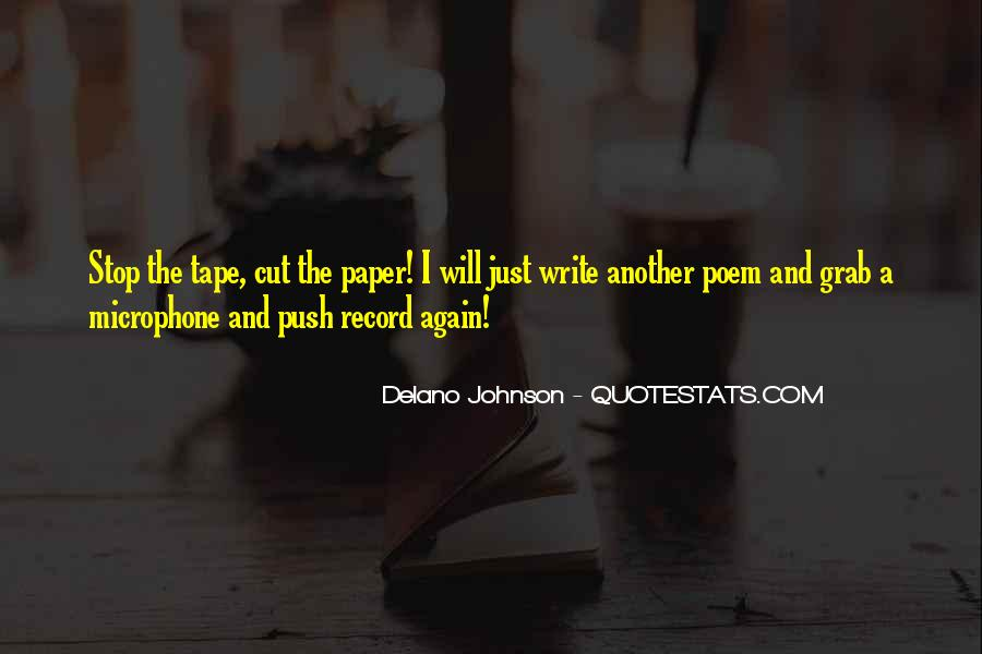 Paper Quotes And Sayings #371257