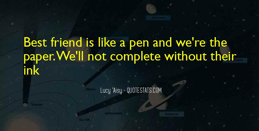 Paper Quotes And Sayings #576061
