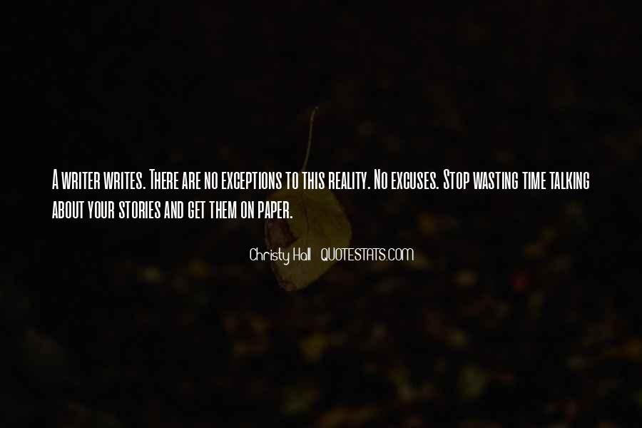 Paper Quotes And Sayings #602722