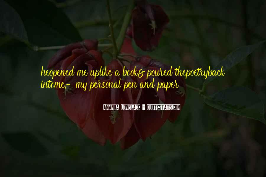 Paper Quotes And Sayings #693795