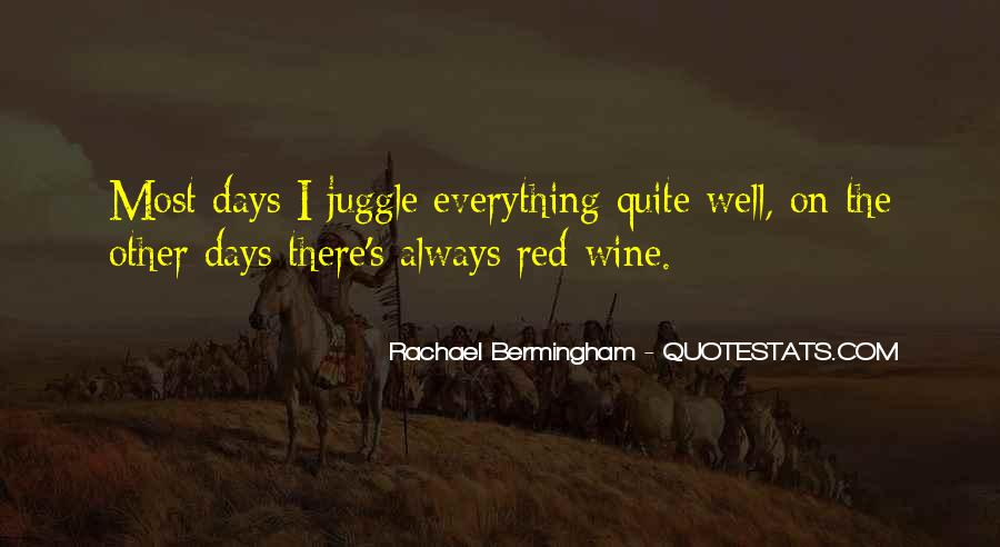 Red Wine Quotes Sayings #1714511
