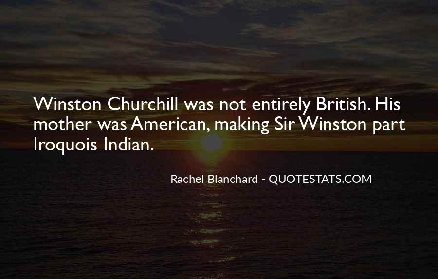 Sir Winston Churchill Sayings #1001148