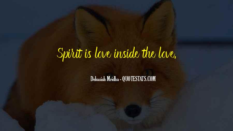 Spirit Quotes Sayings #144336