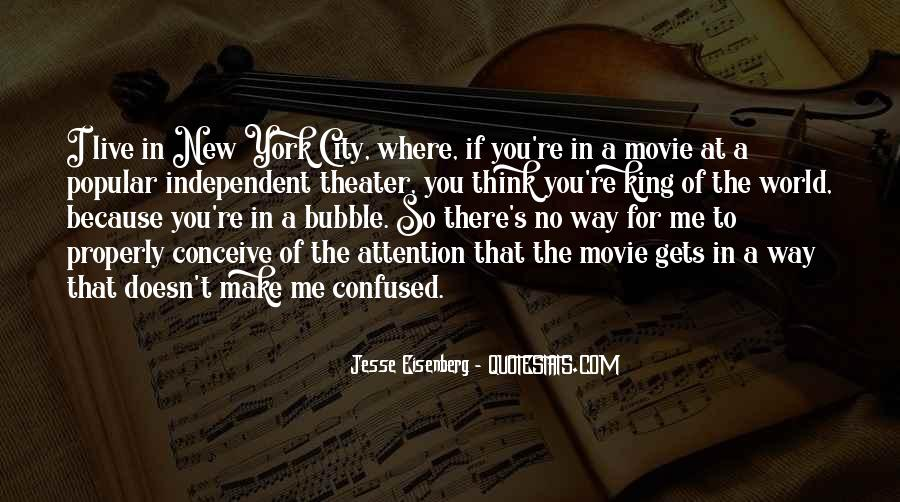 Popular Theater Sayings #528200