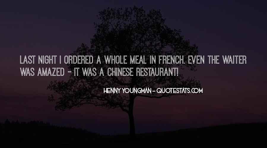 French Waiter Sayings #1012643