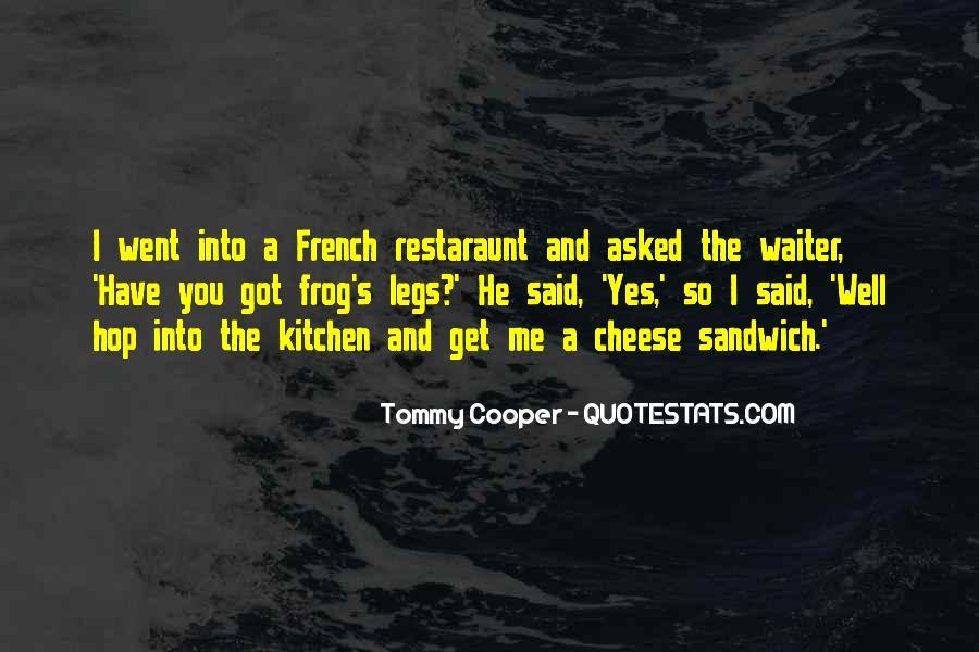 French Waiter Sayings #1052186