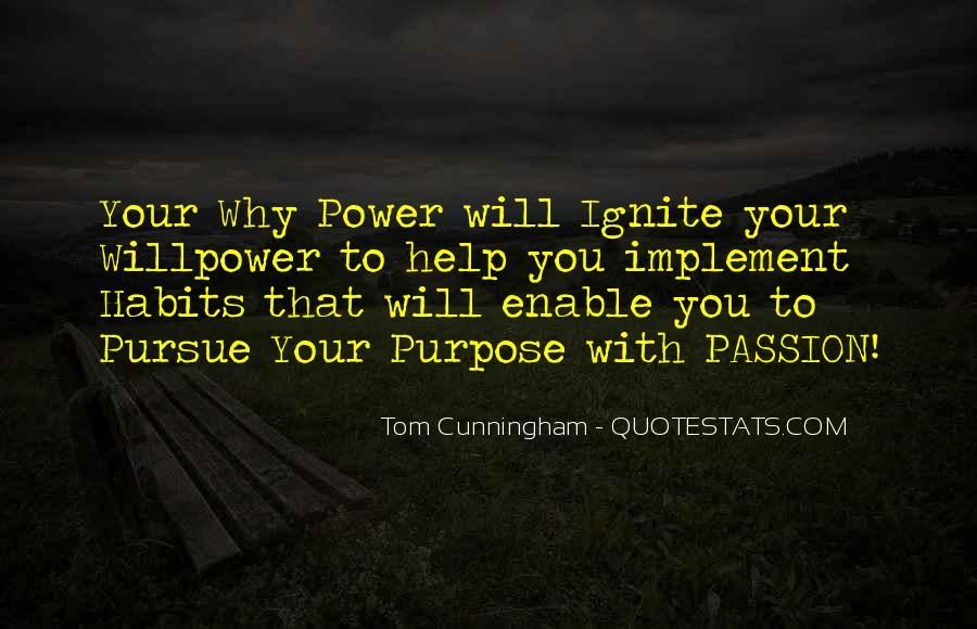 Willpower Quotes And Sayings #509828