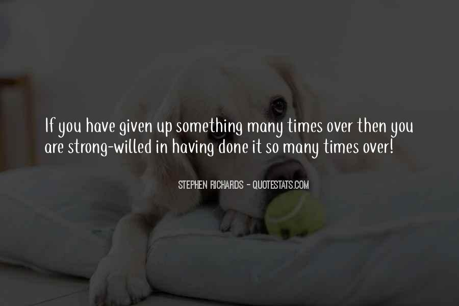 Willpower Quotes And Sayings #814655