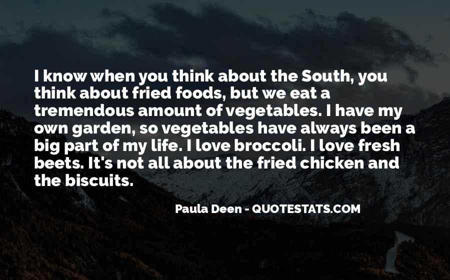 Quotes About Fresh Vegetables #151721