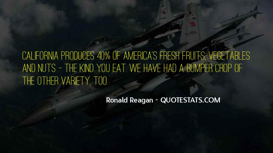 Quotes About Fresh Vegetables #160002