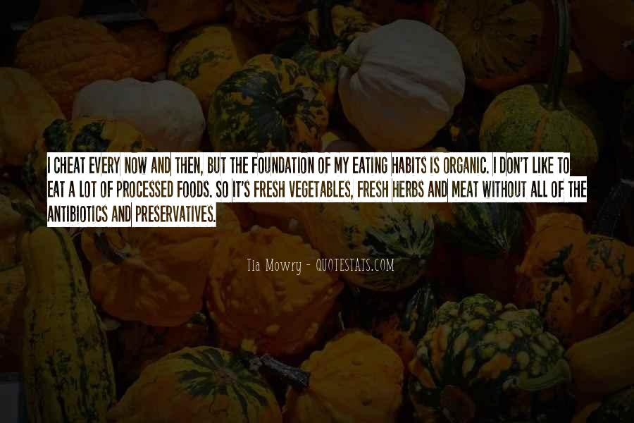 Quotes About Fresh Vegetables #1824539