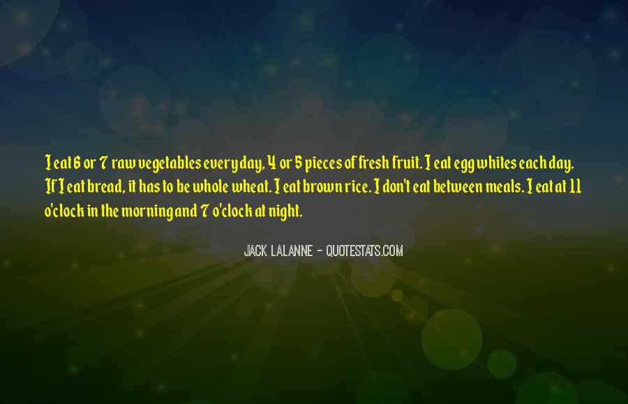 Quotes About Fresh Vegetables #1854424