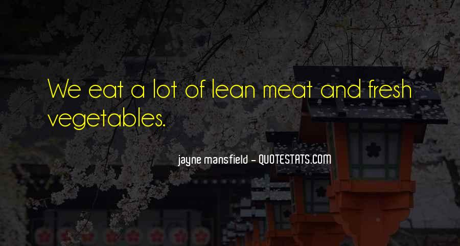 Quotes About Fresh Vegetables #185930