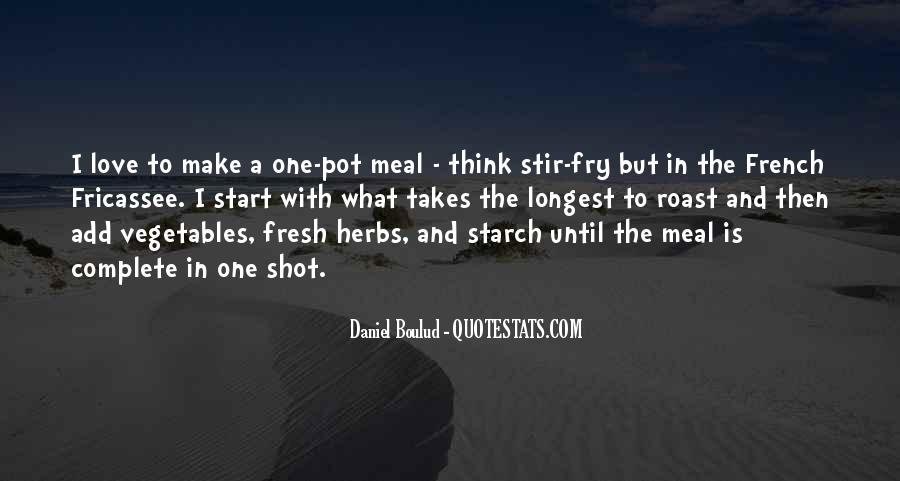 Quotes About Fresh Vegetables #443045