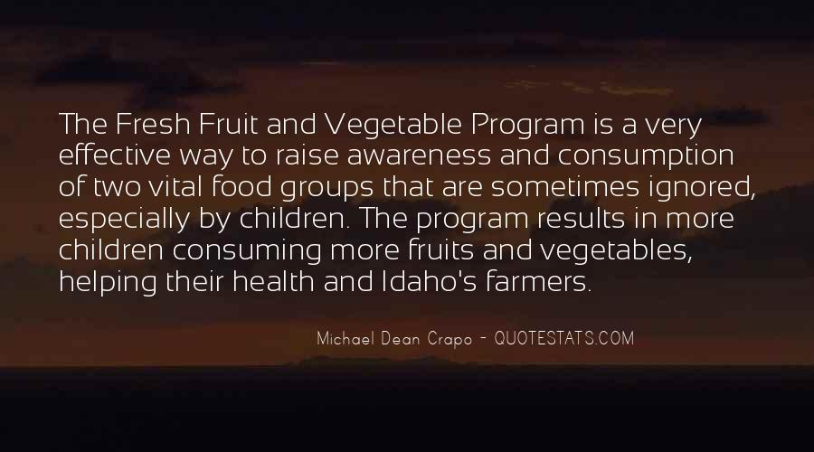 Quotes About Fresh Vegetables #90307