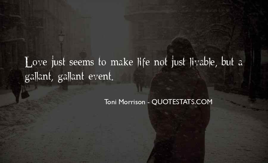 Quotes About Love Toni Morrison #1029097