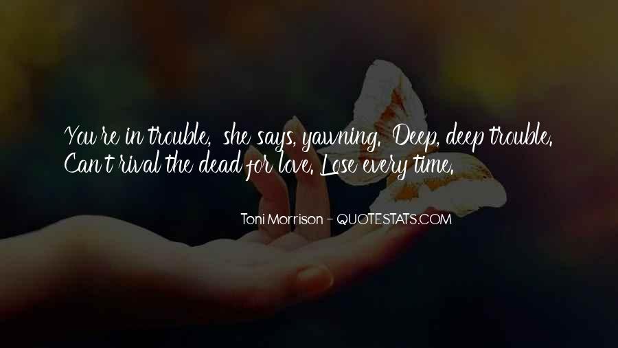 Quotes About Love Toni Morrison #1059995