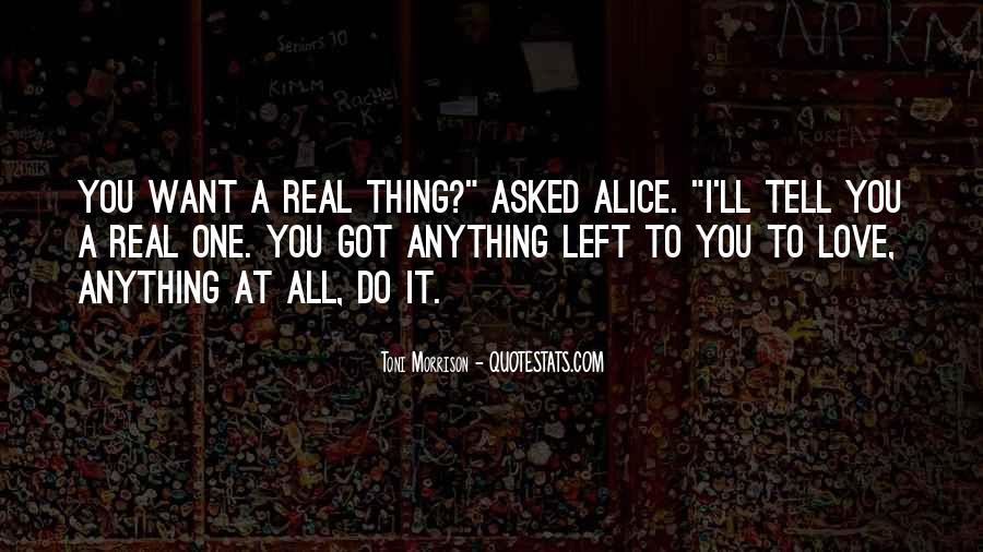 Quotes About Love Toni Morrison #107955
