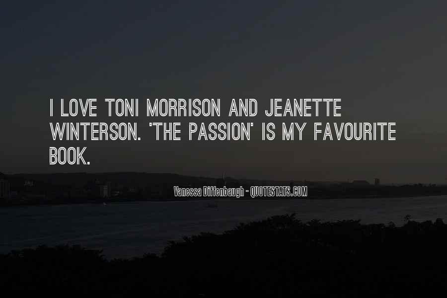 Quotes About Love Toni Morrison #1356165