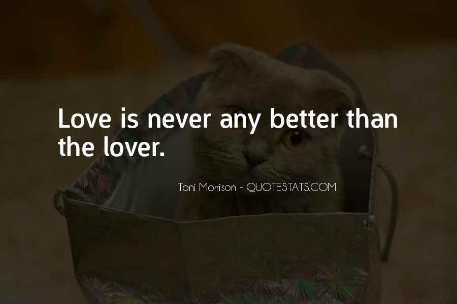 Quotes About Love Toni Morrison #1506053