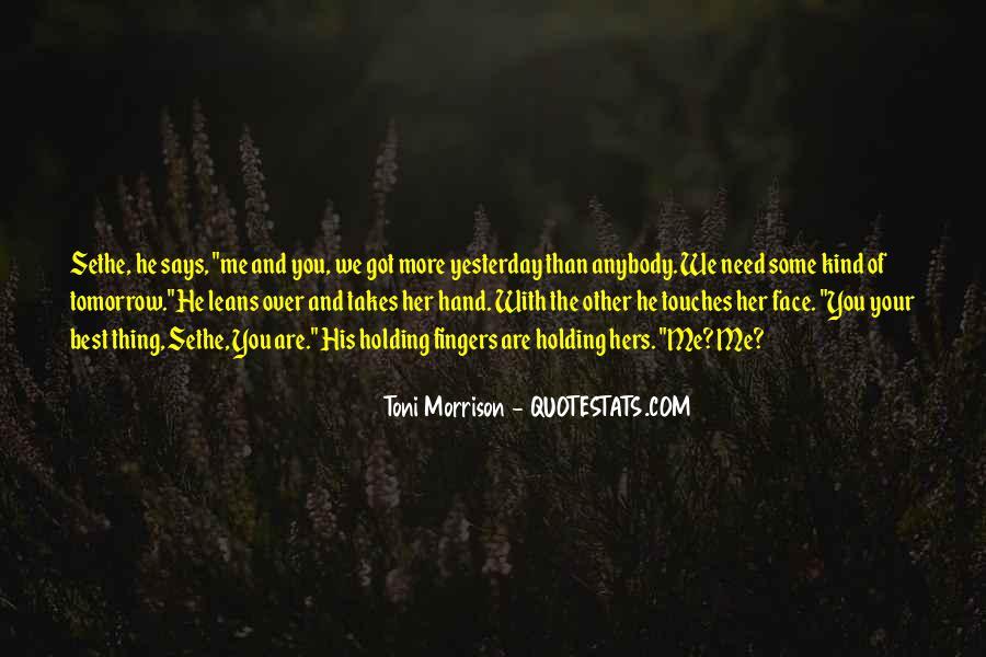 Quotes About Love Toni Morrison #786826