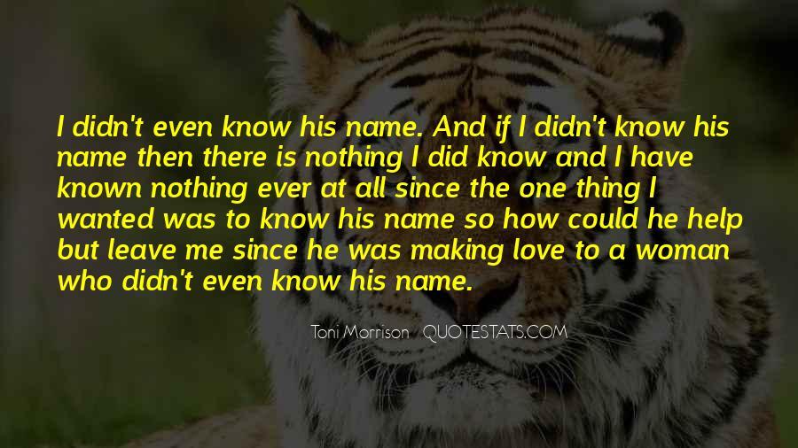 Quotes About Love Toni Morrison #940378