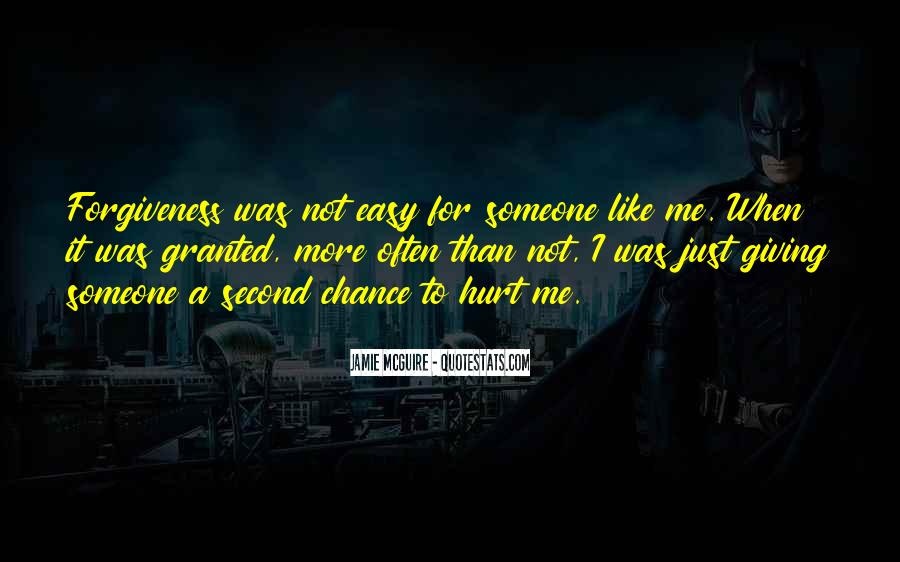 Quotes About Giving A Second Chance To Someone #1420310