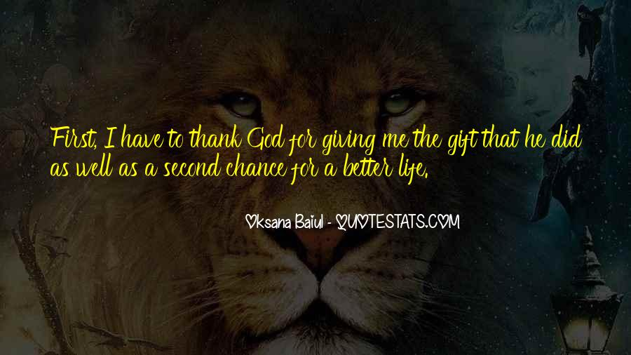 Quotes About Giving A Second Chance To Someone #144074