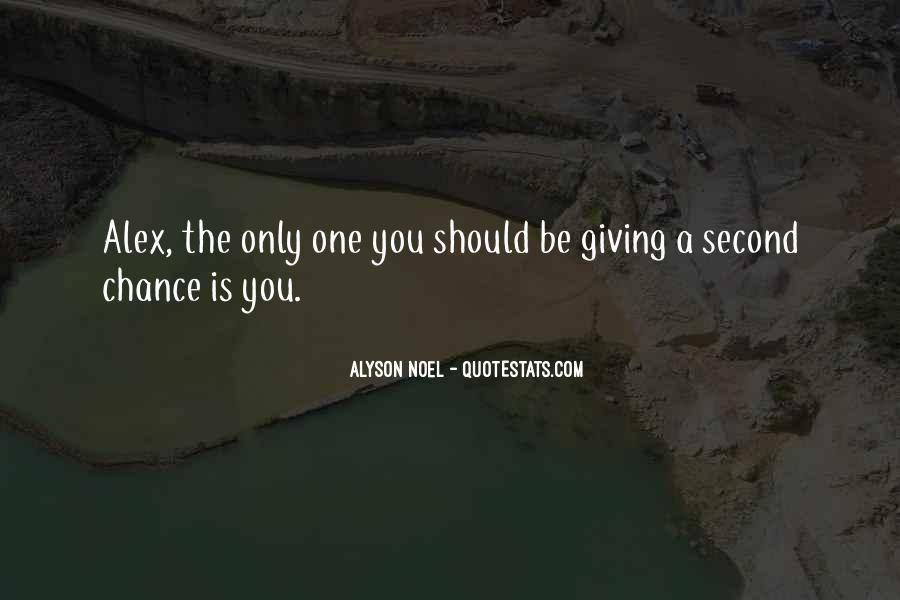 Quotes About Giving A Second Chance To Someone #1742845