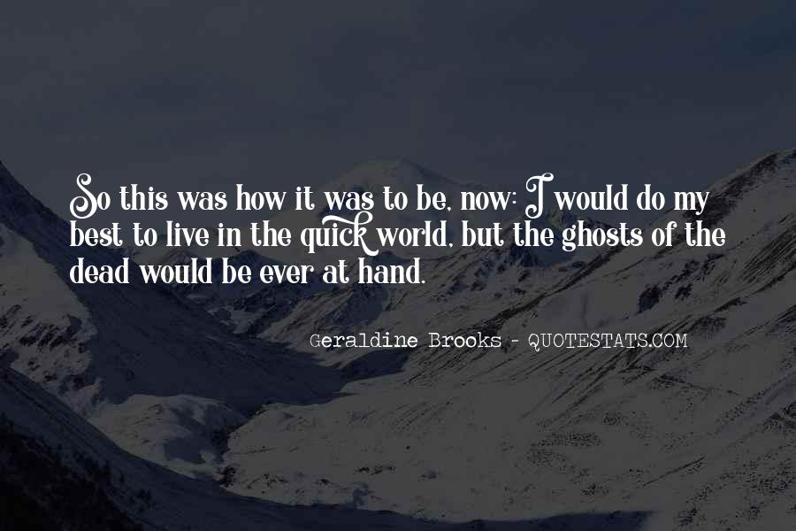 Quotes About Brooks #6452