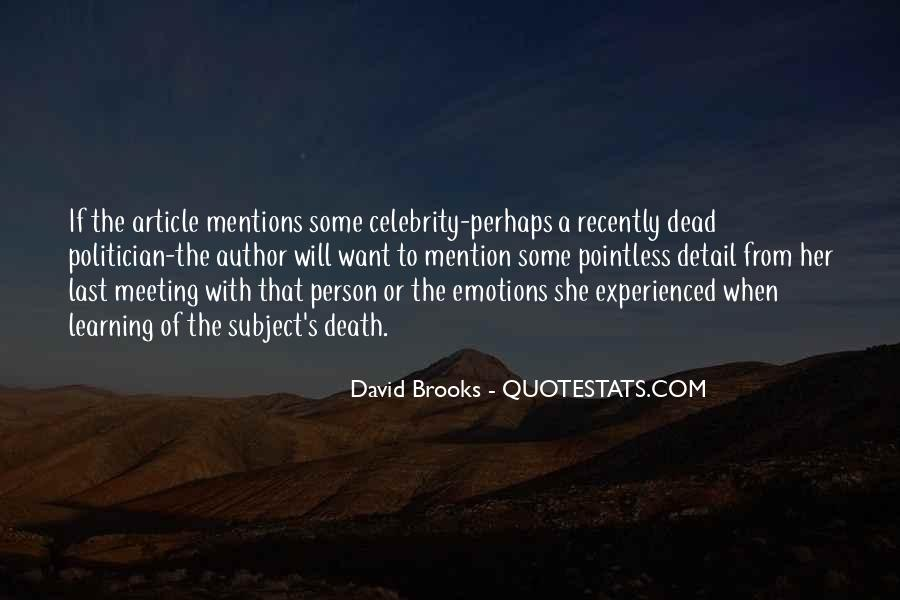 Quotes About Brooks #68104
