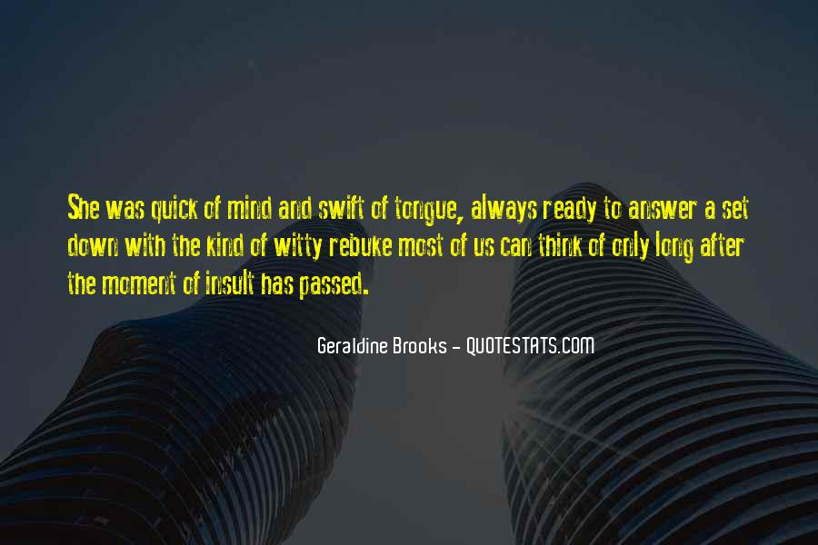 Quotes About Brooks #72527