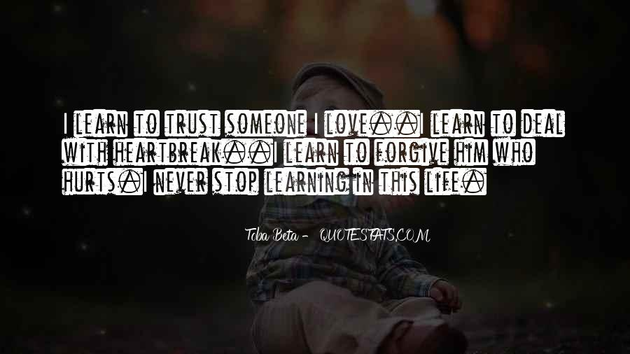 Quotes About Learning To Love Others #142441